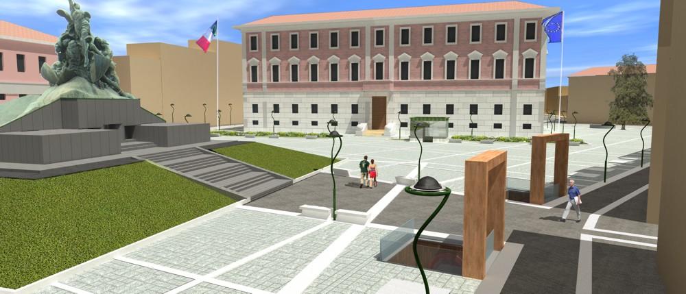 Paolo cogotti piazza trento e trieste monza for Concorsi di architettura