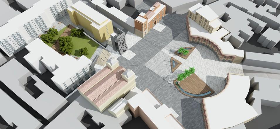 Paolo cogotti piazza san ciro portici for Concorsi di architettura
