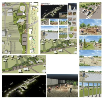 Paolo cogotti parco urbano cereie trivero bi for Concorsi di architettura